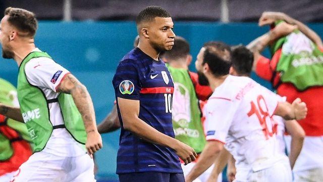 Kylian Mbappé francia falló eurocopa 2020 octavos de final