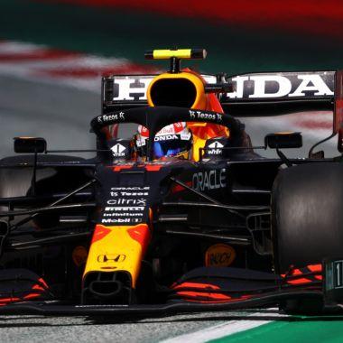 F1: Checo Pérez insultó a Nikita Mazepin, piloto de Haas, en plena carrera