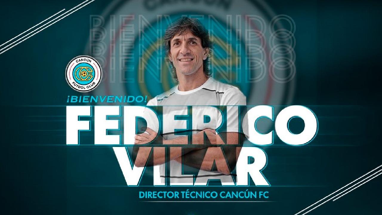 Federico Villar es nuevo director técnico de Cancún FC