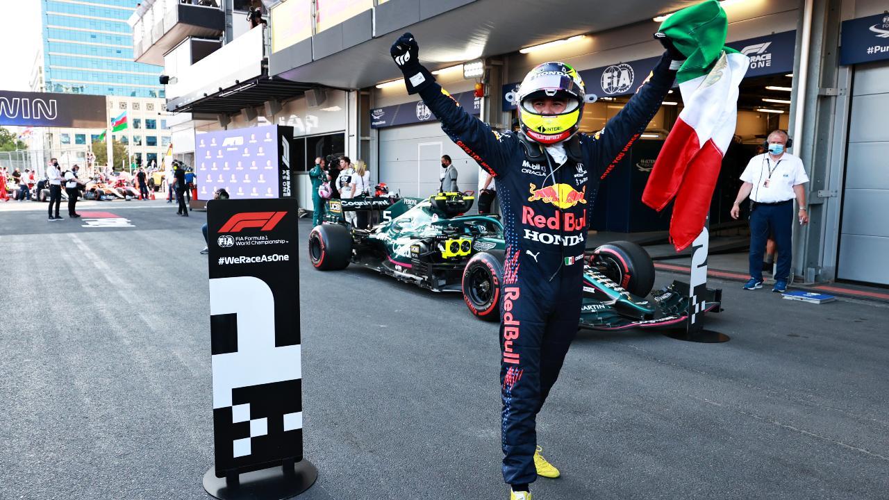 Fórmula 1: Checo Pérez gana el GP de Azerbaiyán