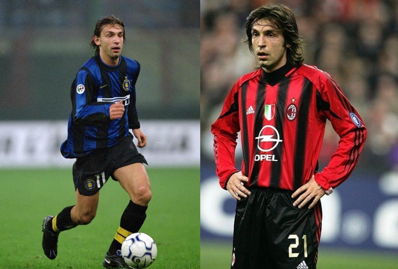Jugadores Inter AC Milan Andrea Pirlo