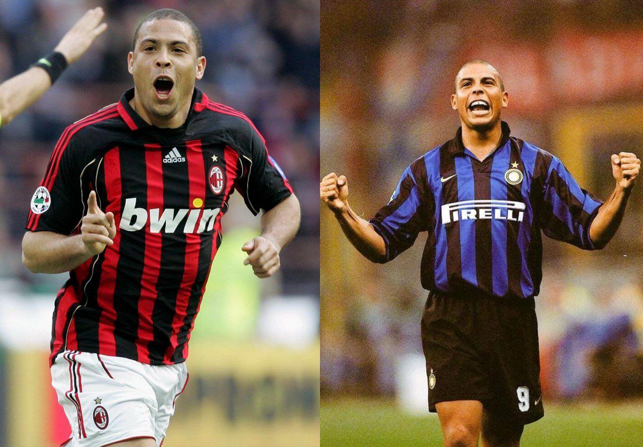 Jugadores Inter AC Milan Ronaldo