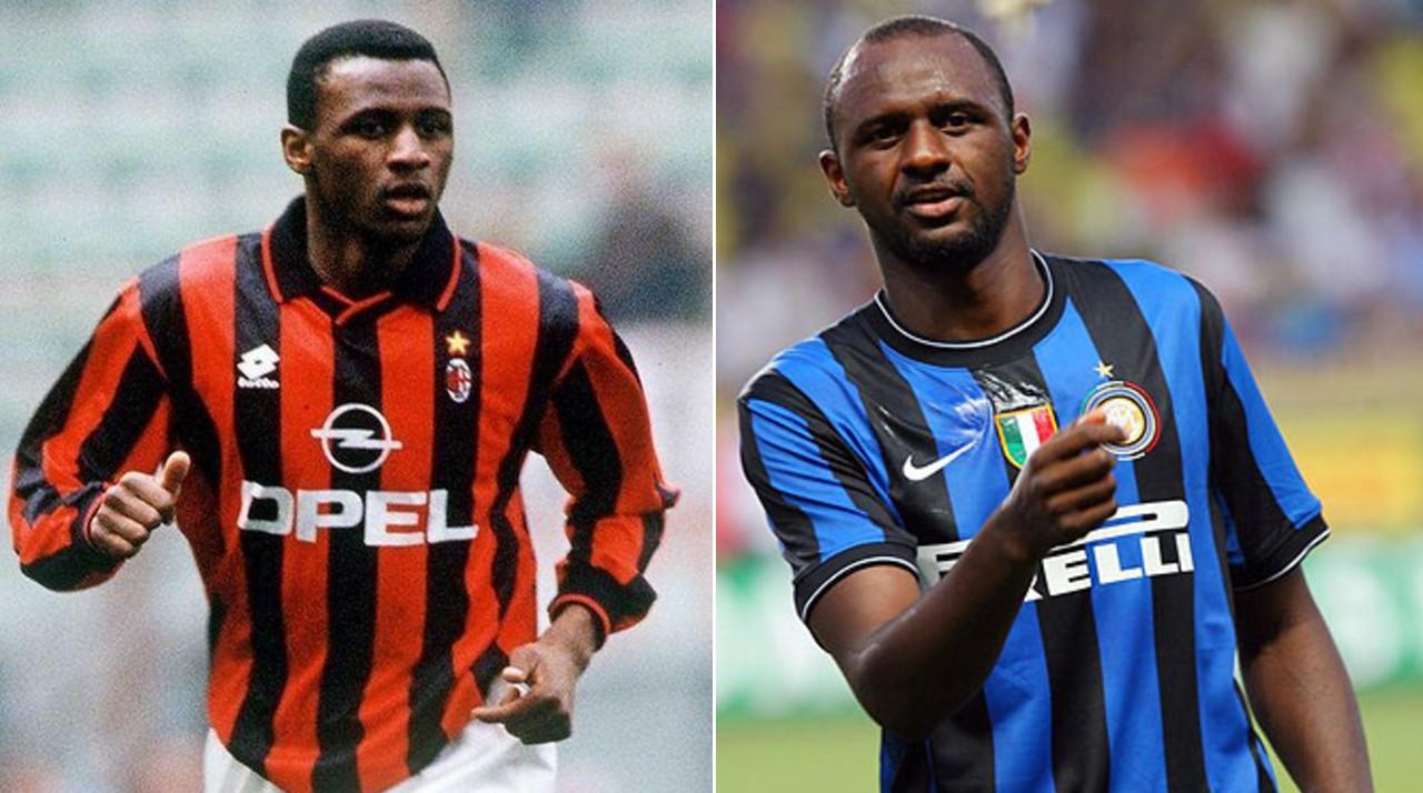 Jugadores Inter AC Milan Patrick Vieira