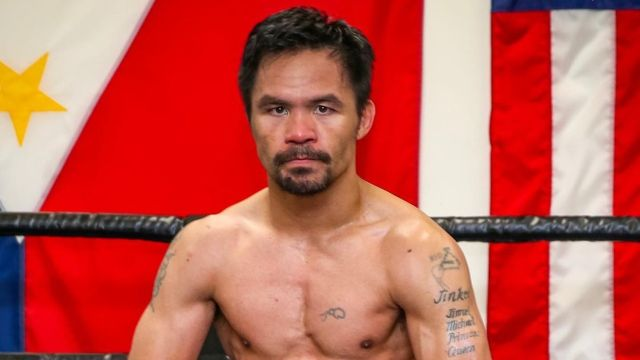 Manny Pacquiao video entrenamiento Errol Spence