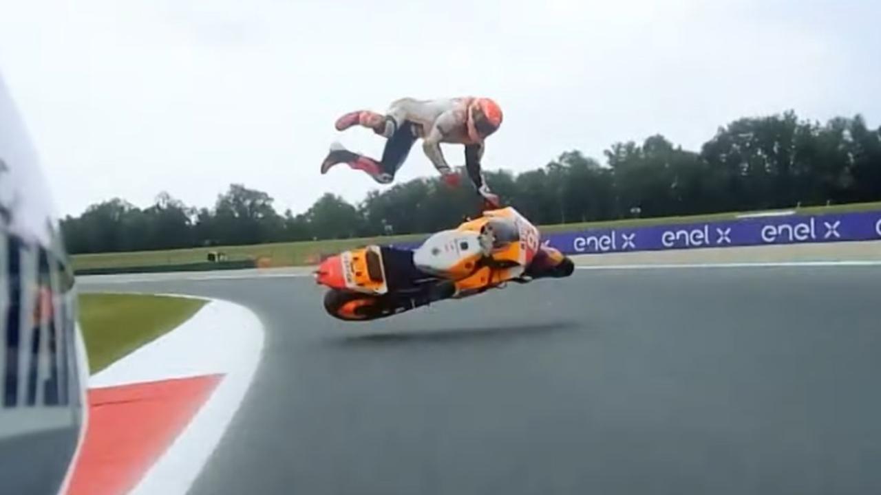 Marc Márquez accidente MotoGP