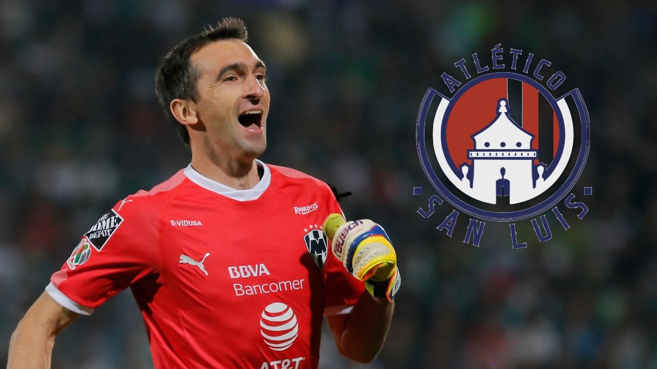 Marcelo Barovero Atlético de San Luis