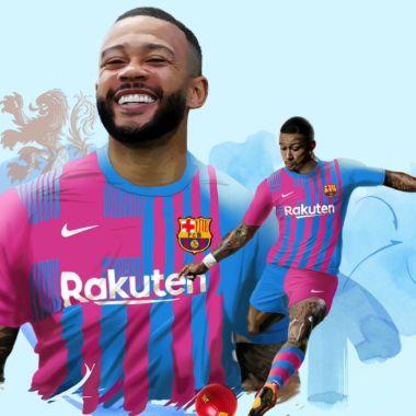 Memphis Depay es nuevo jugador de Barcelona