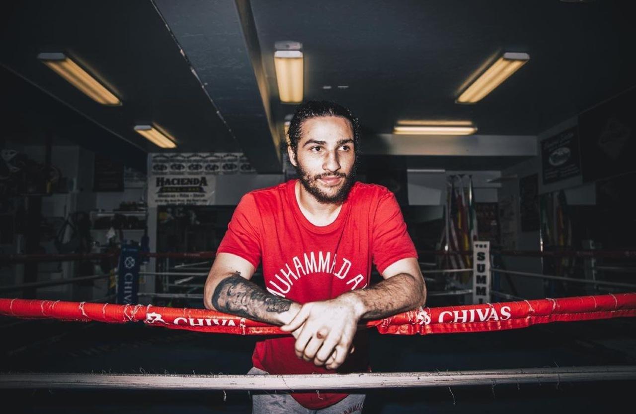 Nieto Muhammad Alí debut boxeo profesional