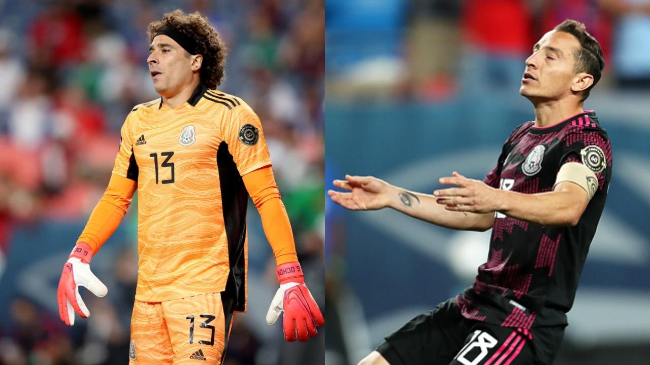 Bajas Selección Mexicana vs. Honduras