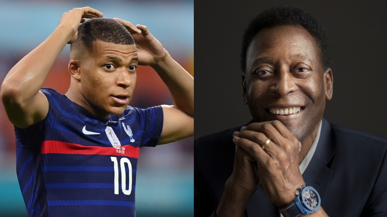 Kylian Mbappé Pelé apoyo Francia Eurocopa