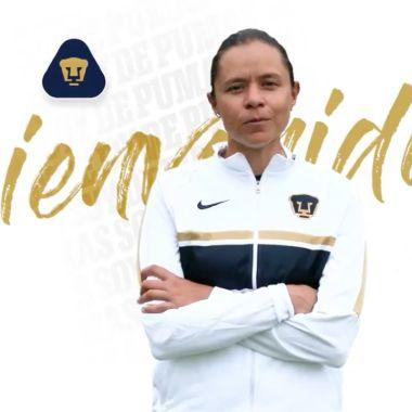 Pumas Femenil Karina Báez liga bbva mx entrenadora