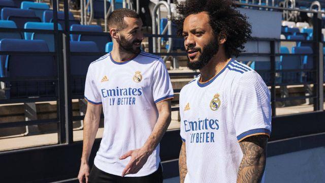 Real Madrid camiseta temporada 2021 22
