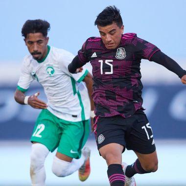 Selección Mexicana Olímpica empate Arabia Saudita