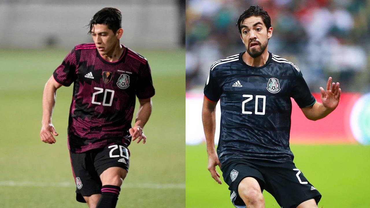Selección Mexicana Gerardo Arteaga y Rodolfo Pizarro