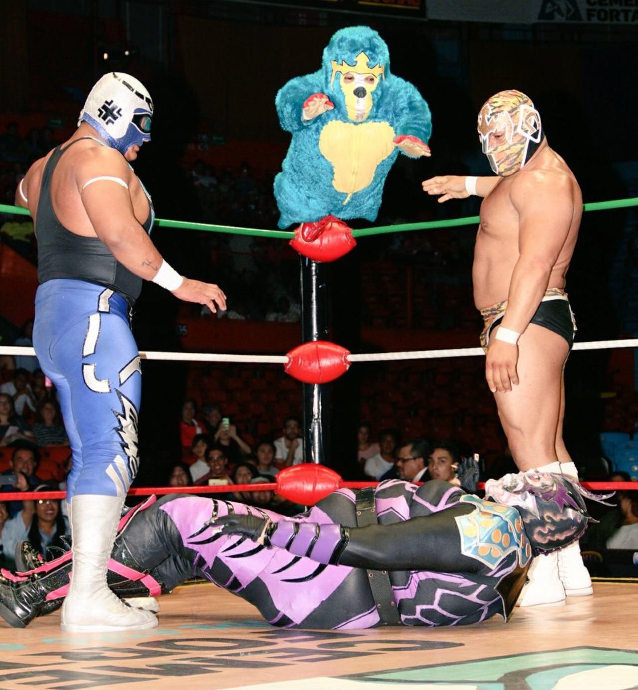 el kemonito lucha libre cmll mascara valiente
