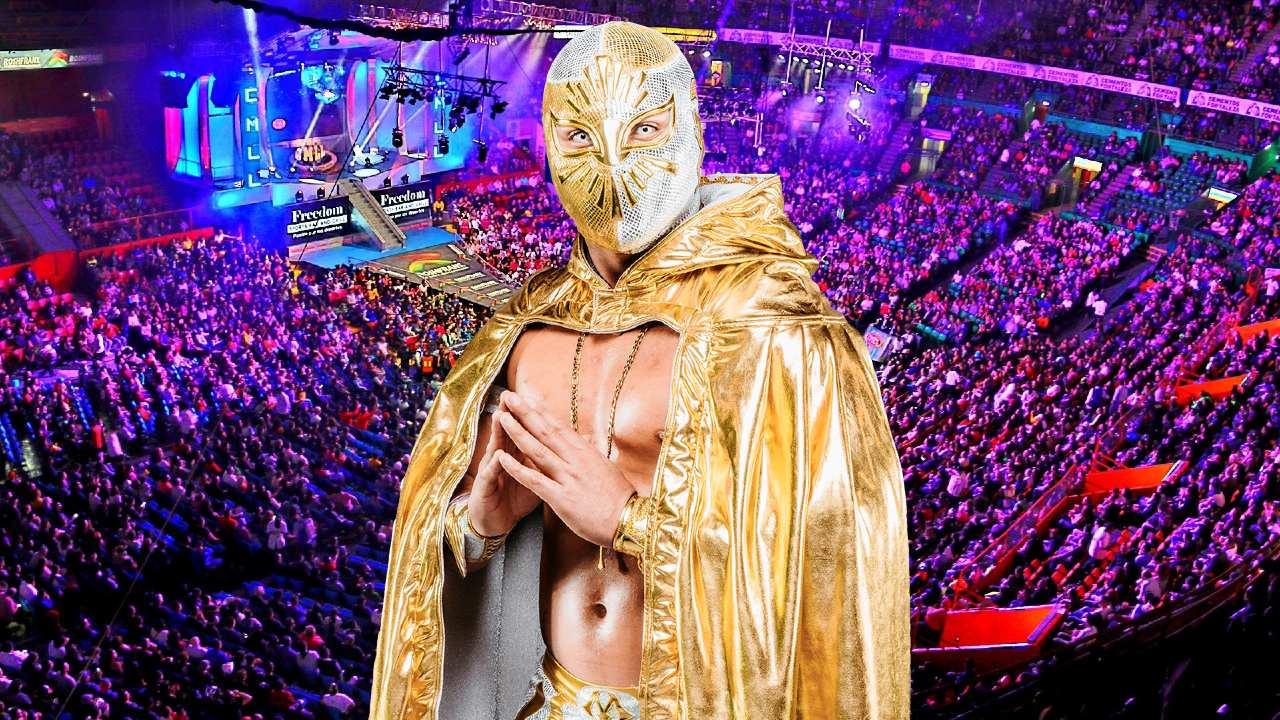el mistico plata oro mascara arena mexico