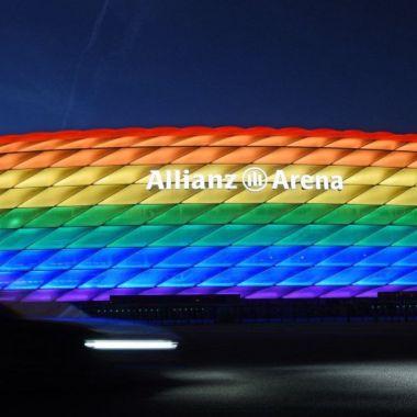 UEFA rechaza pintar al Allianz Arena con los colores de la bandera LGBTIQ+ (1)