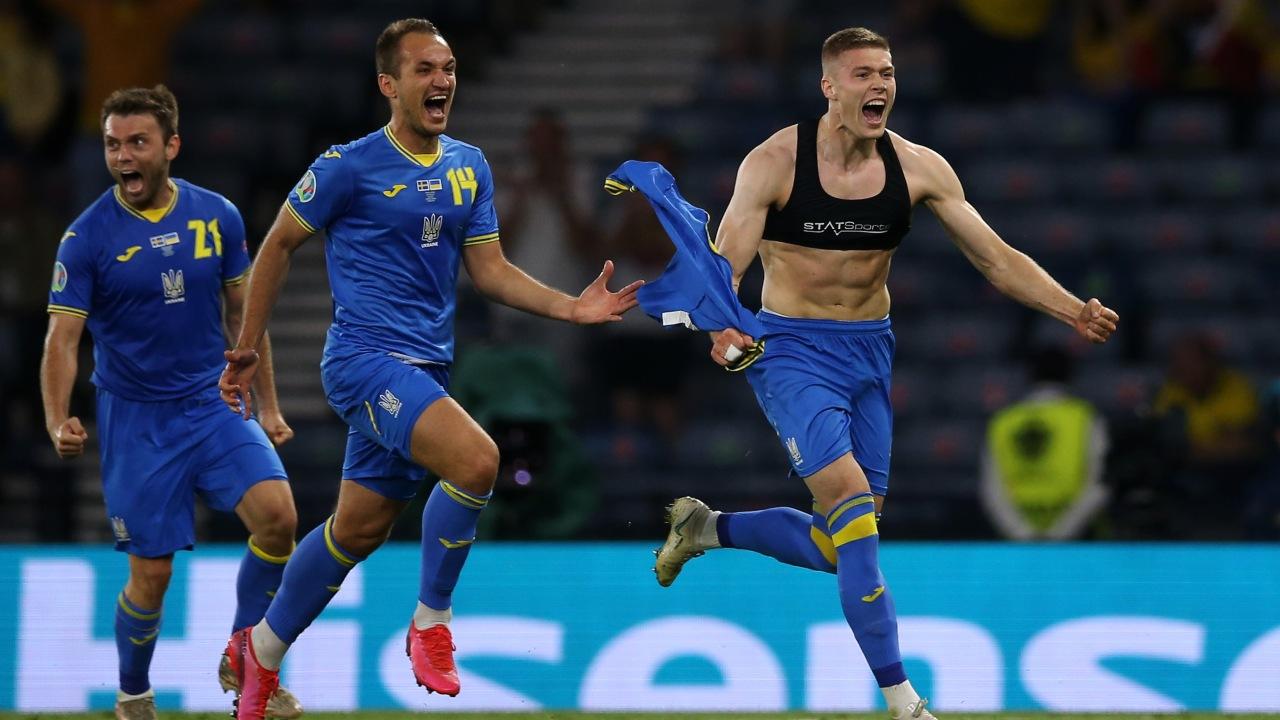 Eurocopa Ucrania vence a Suecia