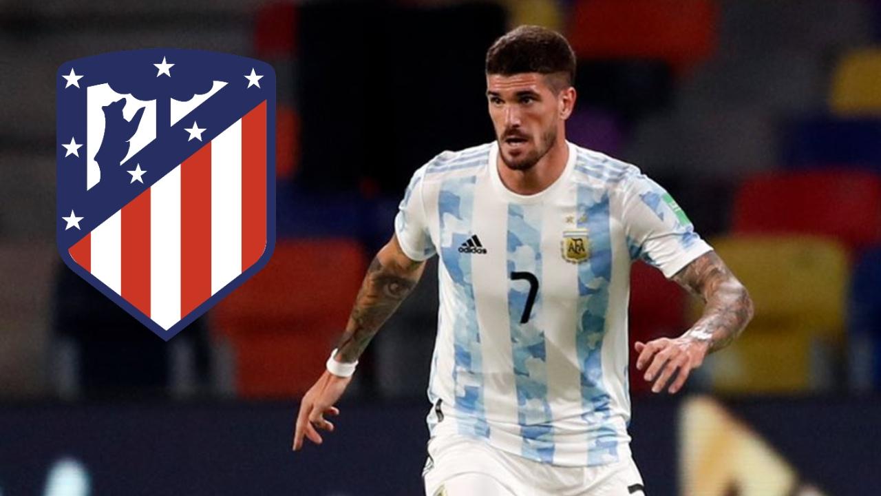 Atlético de Madrid Rodrigo de Paul