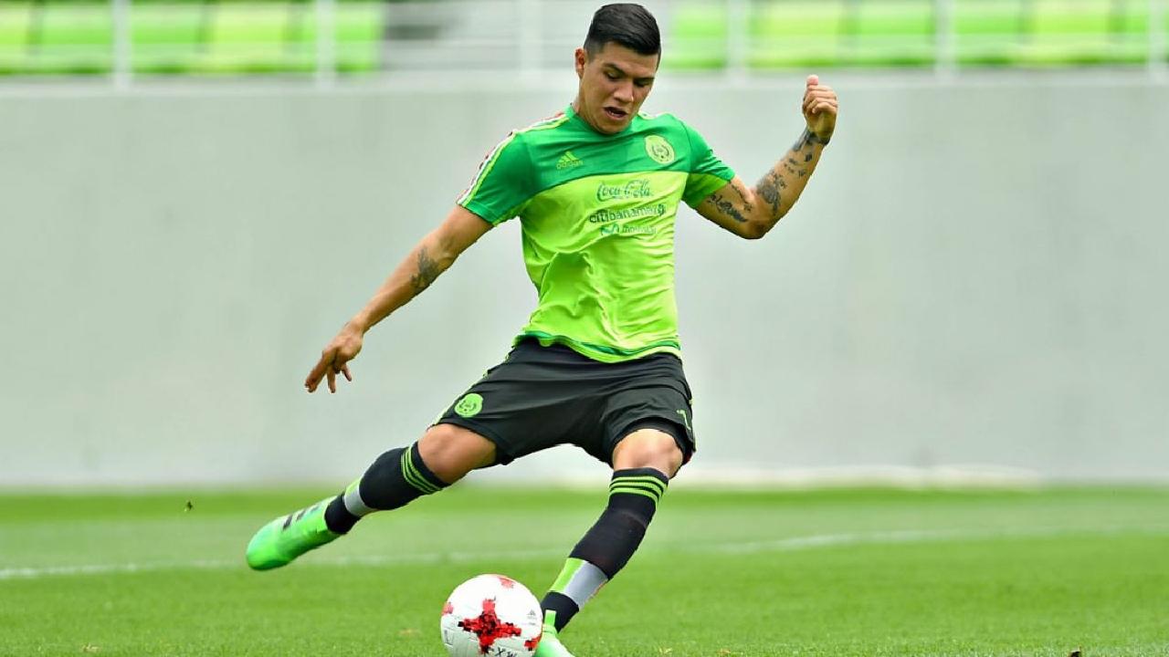 Brayton Vázquez da positivo por COVID-19 y causa baja de la Selección Mexicana que va a Tokyo 2020