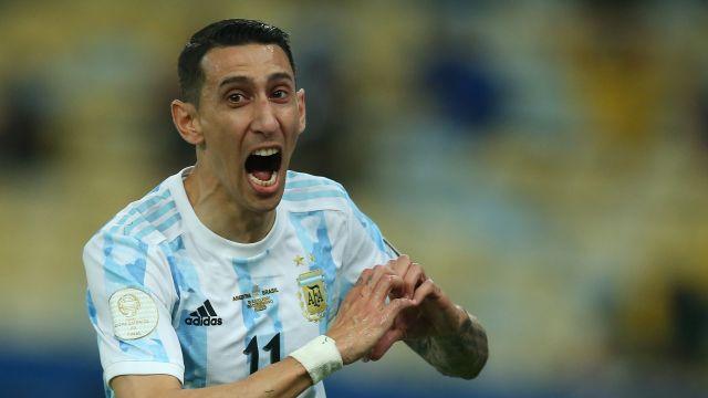 Copa América Argentina gol Di María