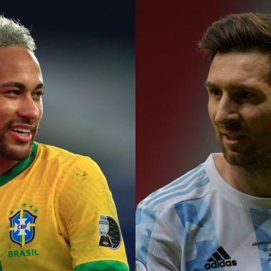 Copa América 2021: Argentina y Brasil revelan sus alineaciones para la gran final
