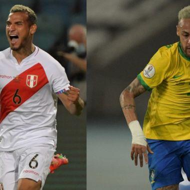 Copa América 2021: Brasil y Perú revelan sus alineaciones para la semifinal