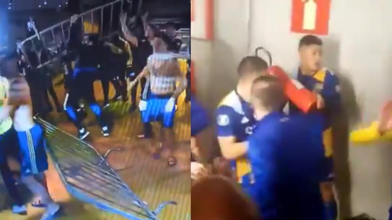 Copa Libertadores 2021 boca juniors pelea mineiro
