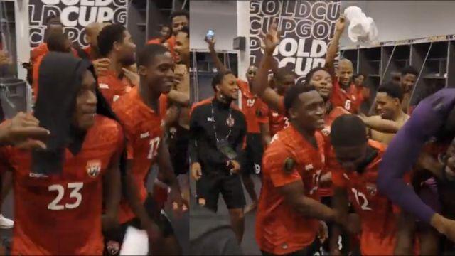 Copa Oro 2021 méxico trinidad y tobago festejo empate