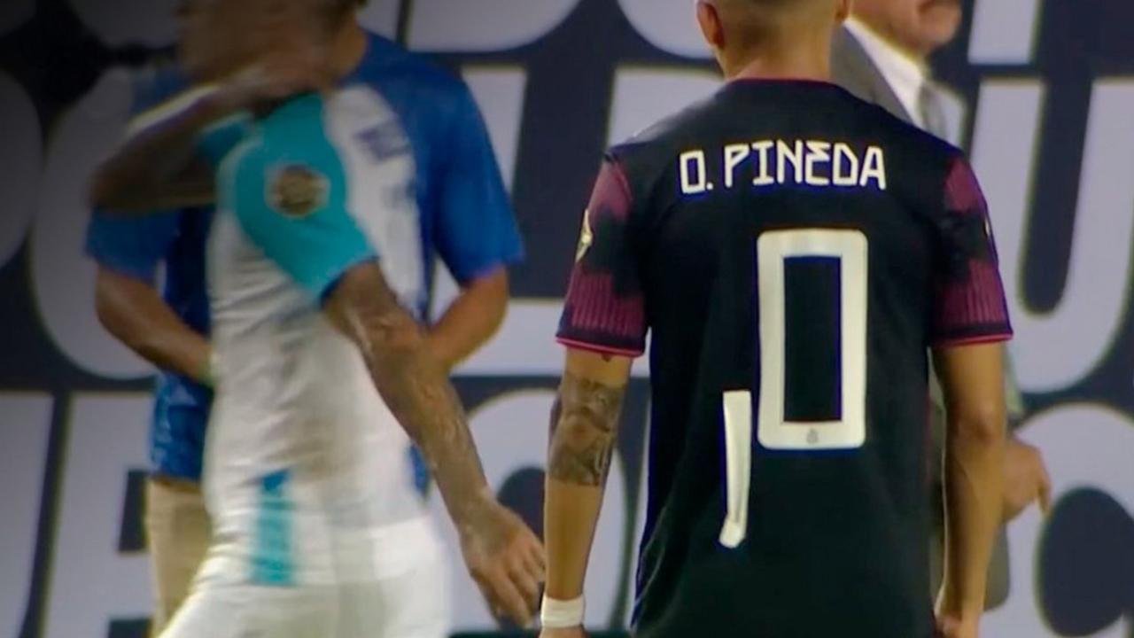 Copa Oro 2021: Orbelín Pineda utilizó el número 0 contra Guatemala
