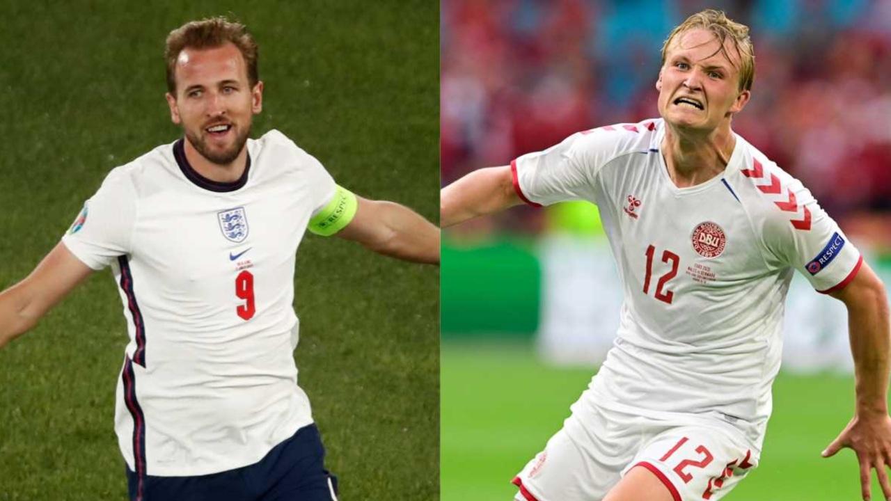 Eurocopa 2020_ Inglaterra y Dinamarca alineaciones