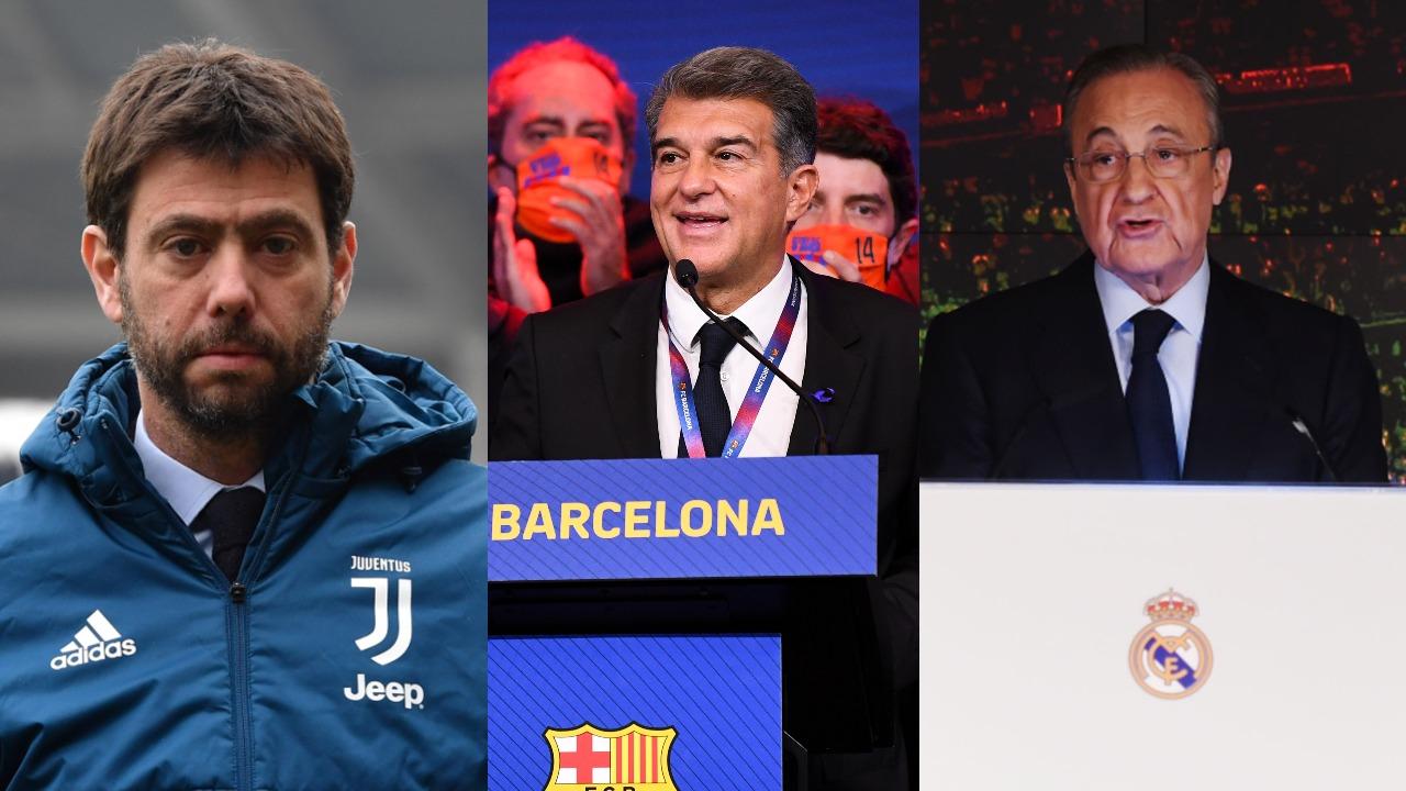 FC Barcelona Real Madrid Juventus Superliga