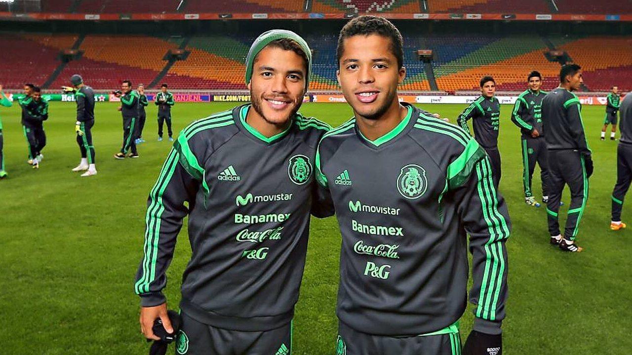 Jonathan Dos Santos giovani hermanos selección