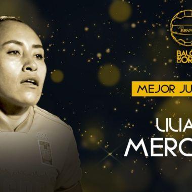Liga BBVA MX Femenil: Liliana Mercado es la Mejor Jugadora de la Temporada 2020-2021
