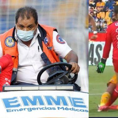 María Tarango, portera de Mazatlán lesion liga bbva mx