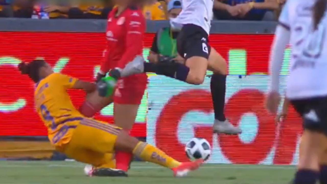 Liga BBVA MX Femenil María Tarango lesión