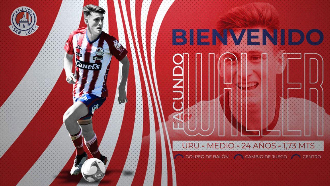 Liga BBVA MX Facundo Waller san luis