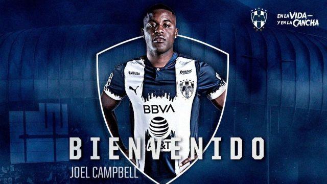 Liga BBVA MX_ Joel Campbell Rayados de MONTERREY