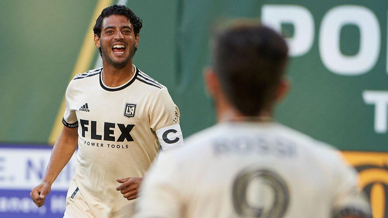Carlos Vela mls gol Portland Timbers