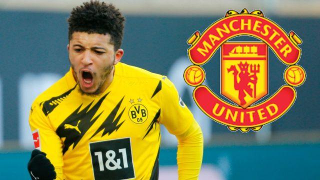 Manchester United hace oficial el fichaje de Jadon Sancho