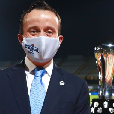 Liga BBVA MX mikel arriola presidente