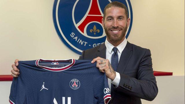 PSG hace oficial el fichaje de Sergio Ramos