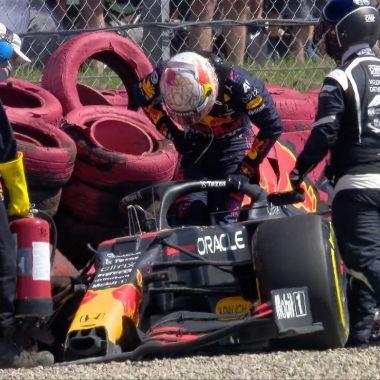 Red Bull F1 hamiton verstappen choque