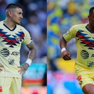 Jugadores del América Nico Castillo Renato Ibarra