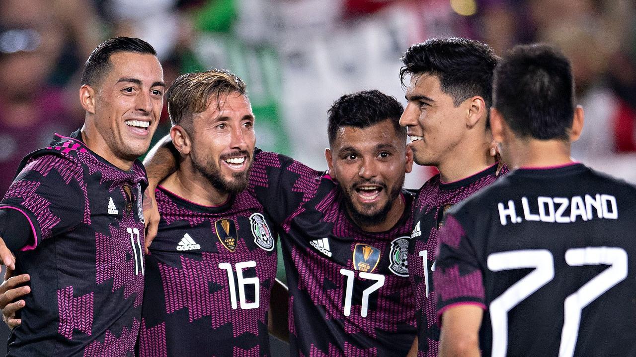 Selección Mexicana golea Nigeria Funes Mori