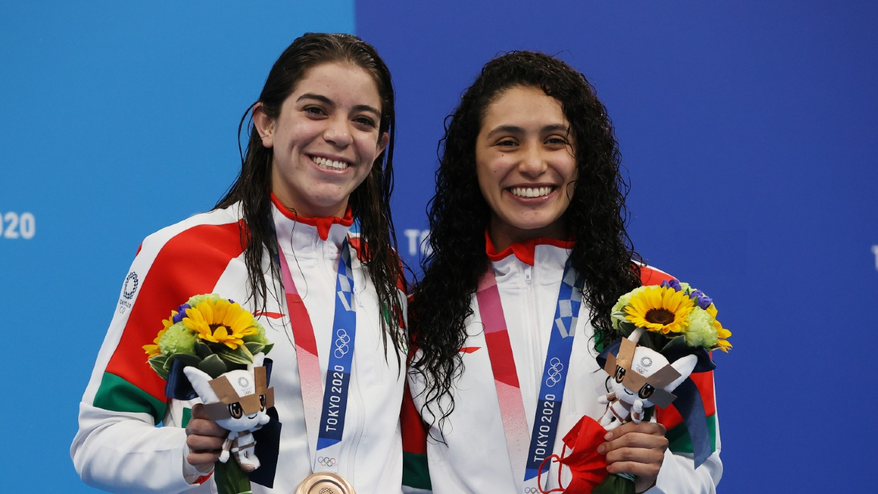 Tokyo 2020: Alejandra Orozco y Gabriela Agúndez ganan medalla de bronce  para México en clavados - Los Pleyers