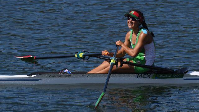 Tokyo 2020: La mexicana Kenia Lechuga se clasifica a cuartos de final en remo femenil