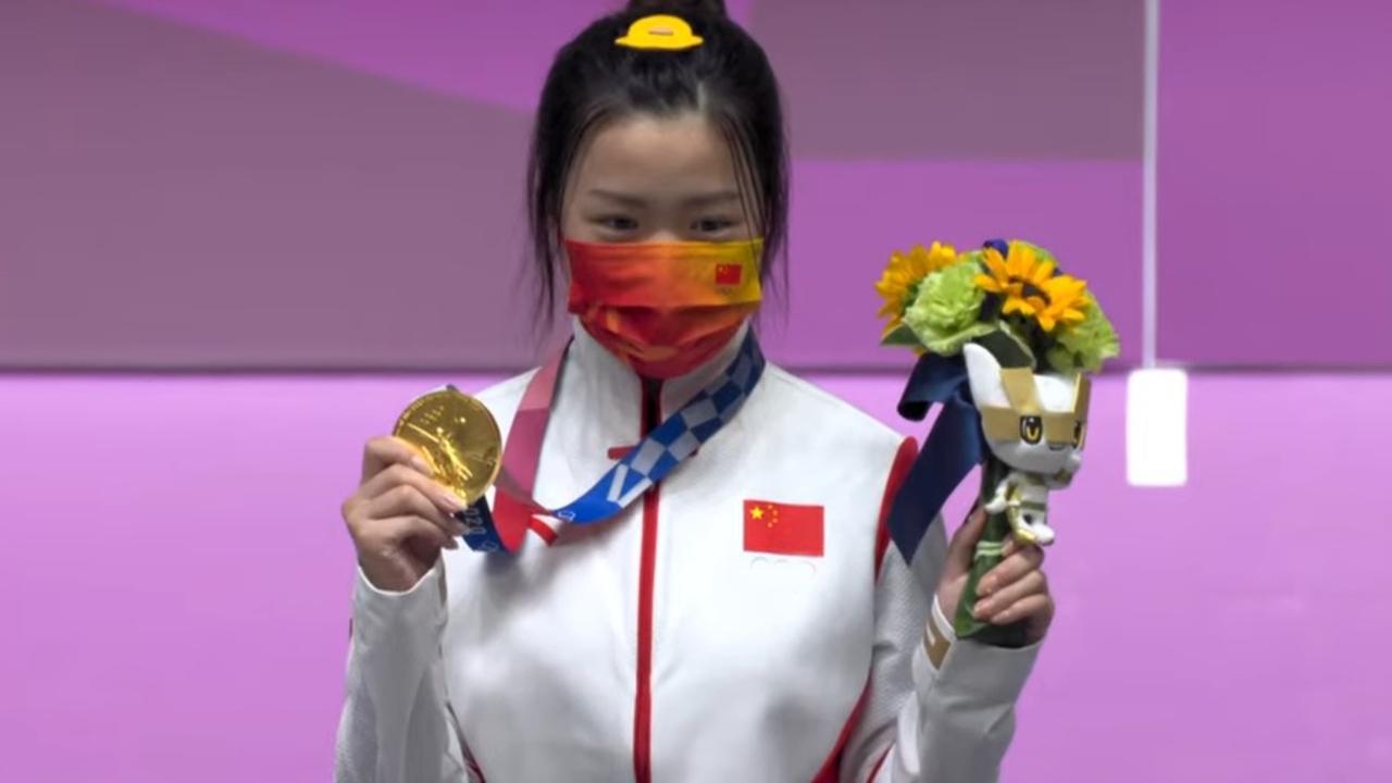 Tokyo 2020: Yang Qian se convierte en la primer atleta en conseguir una medalla de oro