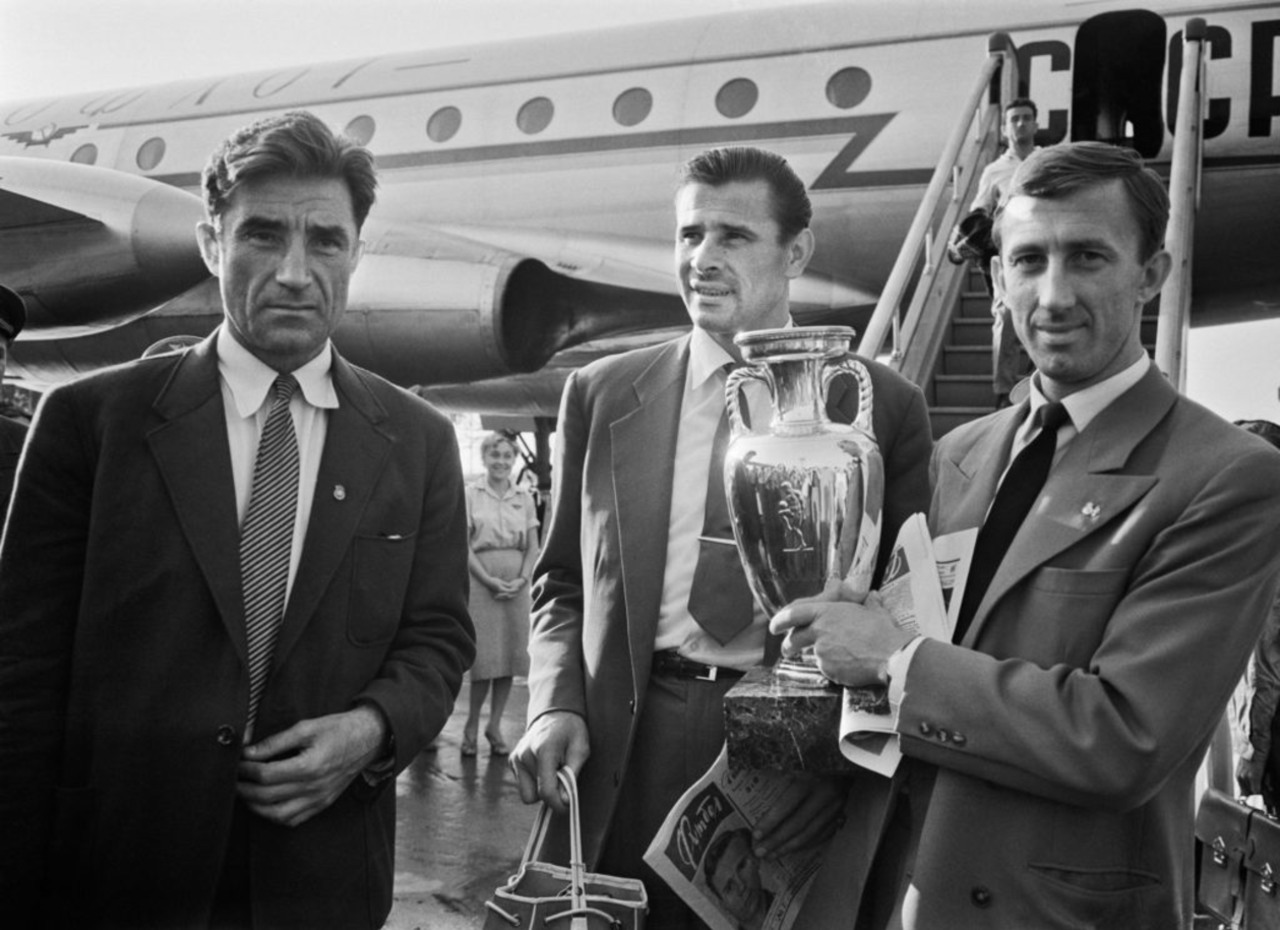 URSS campeón 1960 Eurocopa