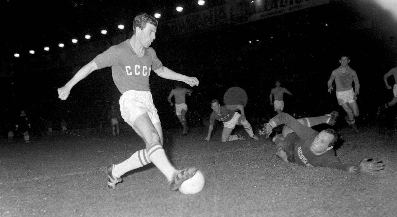 Unión Soviética campeón Eurocopa 1960